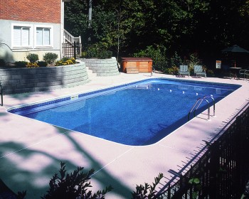Rectangle 2ft Radius Pool - by Eastgate