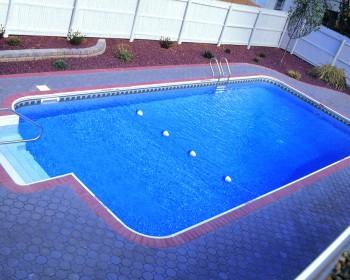 Rectangle 2ft Radius Pool