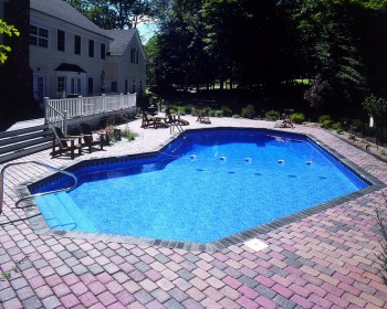Grecian Inground Pool Shape Options