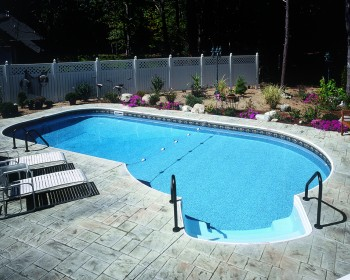 Keyhole Inground Pool Designs and Blue Prints