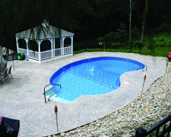kidney Shaped Inground Pool Plans