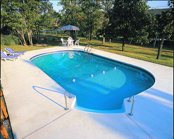 Oval Inground Pool Installations