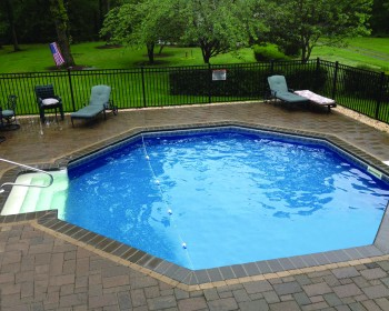 Patio Pool Installation