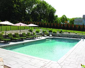 Rectangle 6in Radius Pool