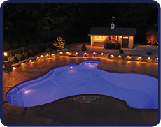 How to remodel and Inground Pool with New Lighting Options