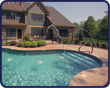 Inground Pool Renovations - Water Features