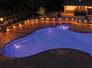 Custom Lighting Options For Legacy Inground Pools