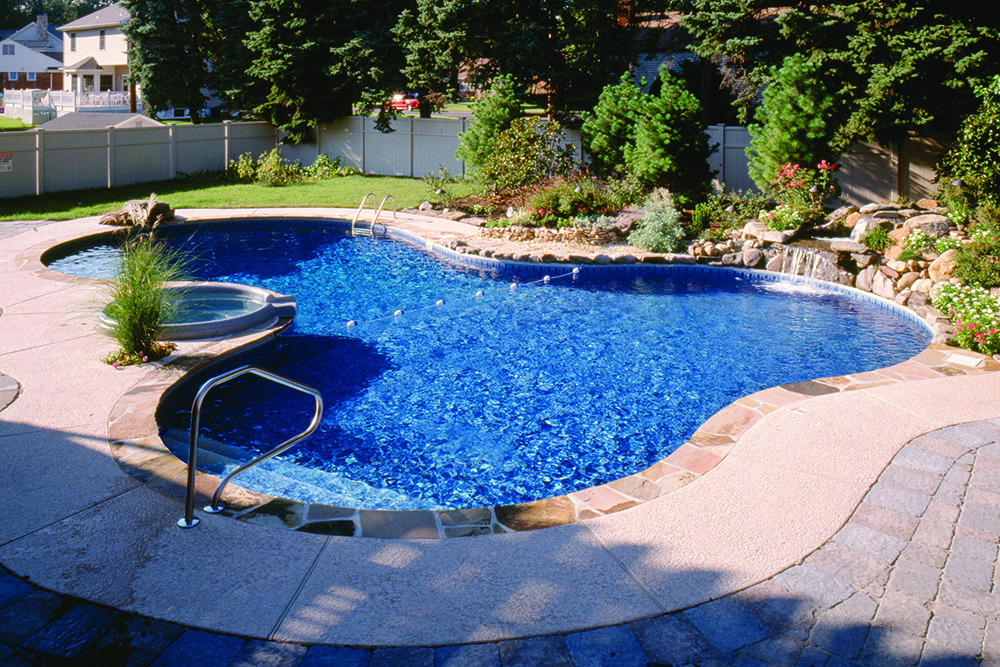 Legacy Pool Gallery | Lagoon Shaped Inground Pool Design Ideas