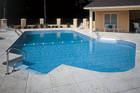 4ft Radius Rectangle Inground Pool Shapes Gallery
