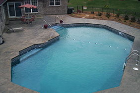 Grecian Inground Pool Shapes & Sizes Gallery