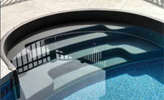 Inground Pool Steps and Entry Systems
