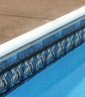 Inground Pool Liner Decor Options - Classic Liner Pattern Designs