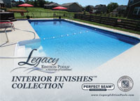 Choose the perfect liner for your pool makeover with our Legacy Edition Pools Interior Pool Finishes Brochure