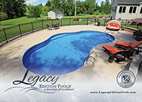 View Custom Inground Pool Options in Our Legacy Inground Pool Brochure