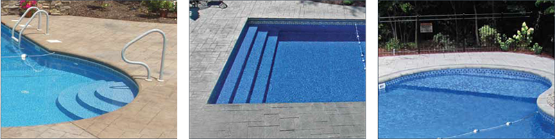 Pictures Of Sundecks Stairs And Benches: Luxury Pool Entry Systems